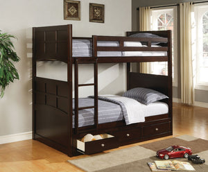 Sion Twin/Twin Bunk Bed with Storage
