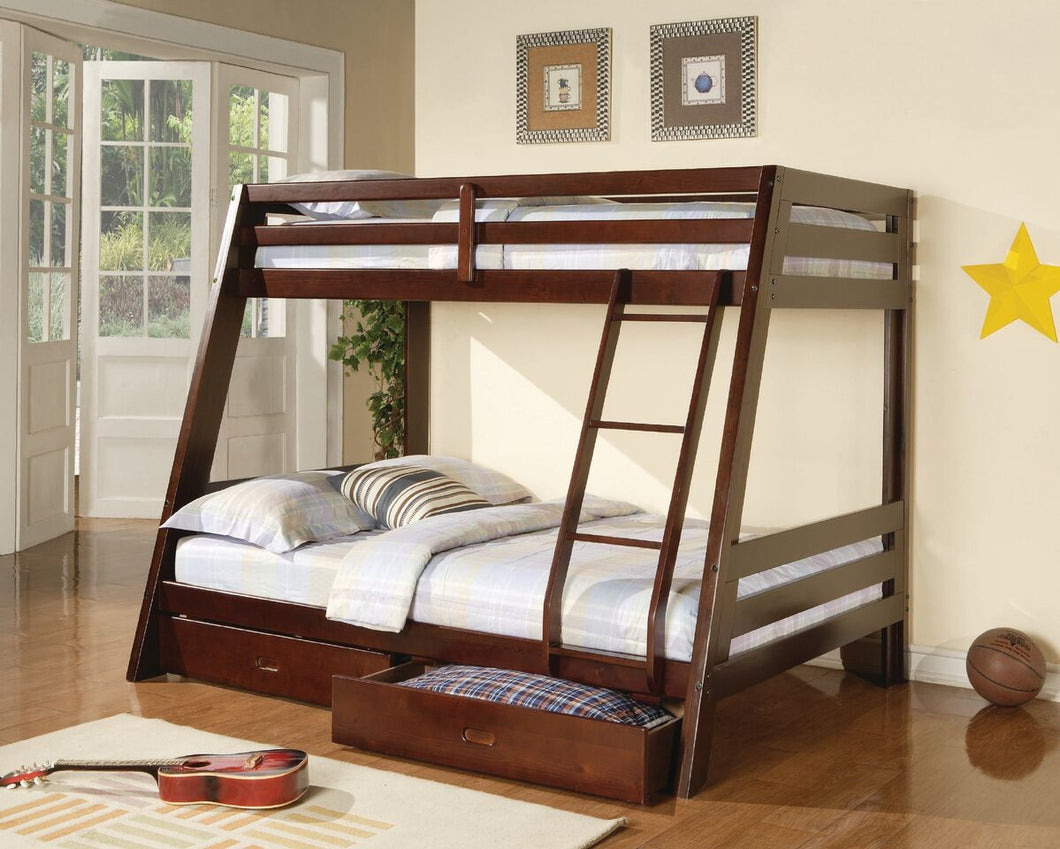 Rold Twin/Full Bunk Bed with Storage