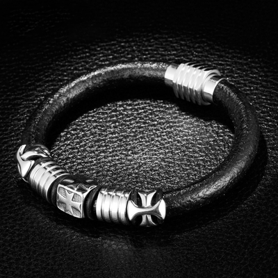 Believer Leather Bracelet