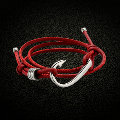 Ultimate Hook Leather Bracelet