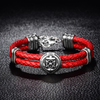 Ocean Conquest Leather Bracelet
