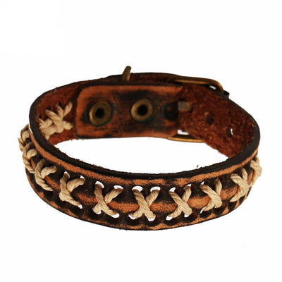 X Your Day Leather Bracelet