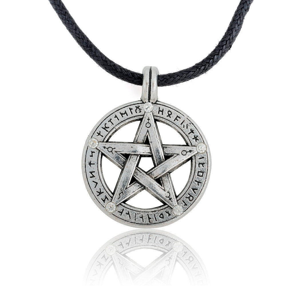Pentagram Protector Pendant Necklace