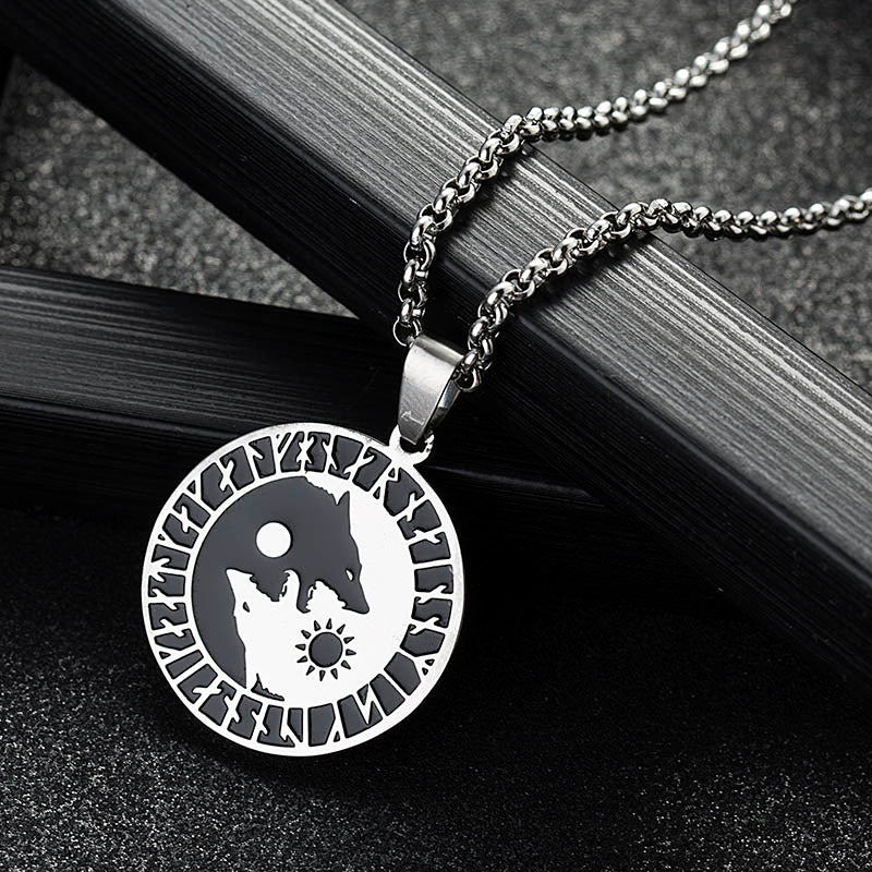 Equilibrium Wolves Necklace
