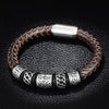 Ancient Glory Leather Bracelet
