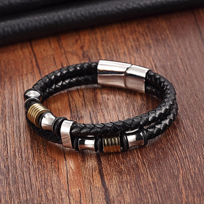 Rock Your Punk Leather Bracelet