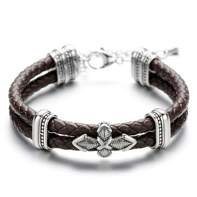 Loyalty Leather Bracelet