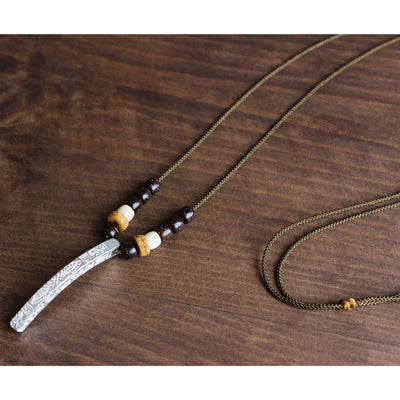 Tibetan Lucky Totem Necklace