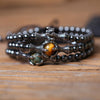 Dragon Ball Hematite Bracelet