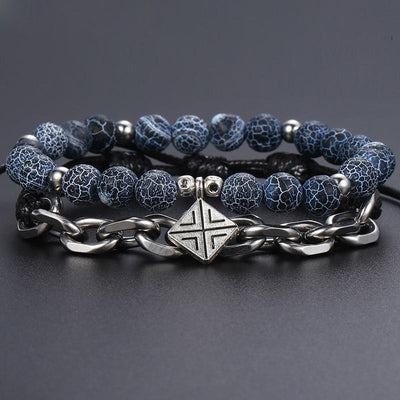 Thunder Rage Bracelet Set 2pcs