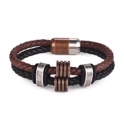 Retro Minimalism Leather Bracelet