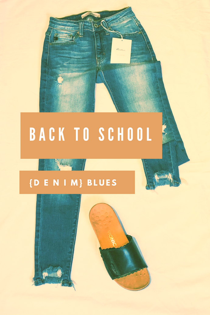 Back to School {d e n i m} Blues