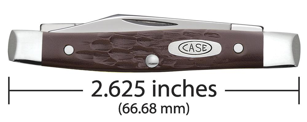 Brown Synthetic Small Pen Knife