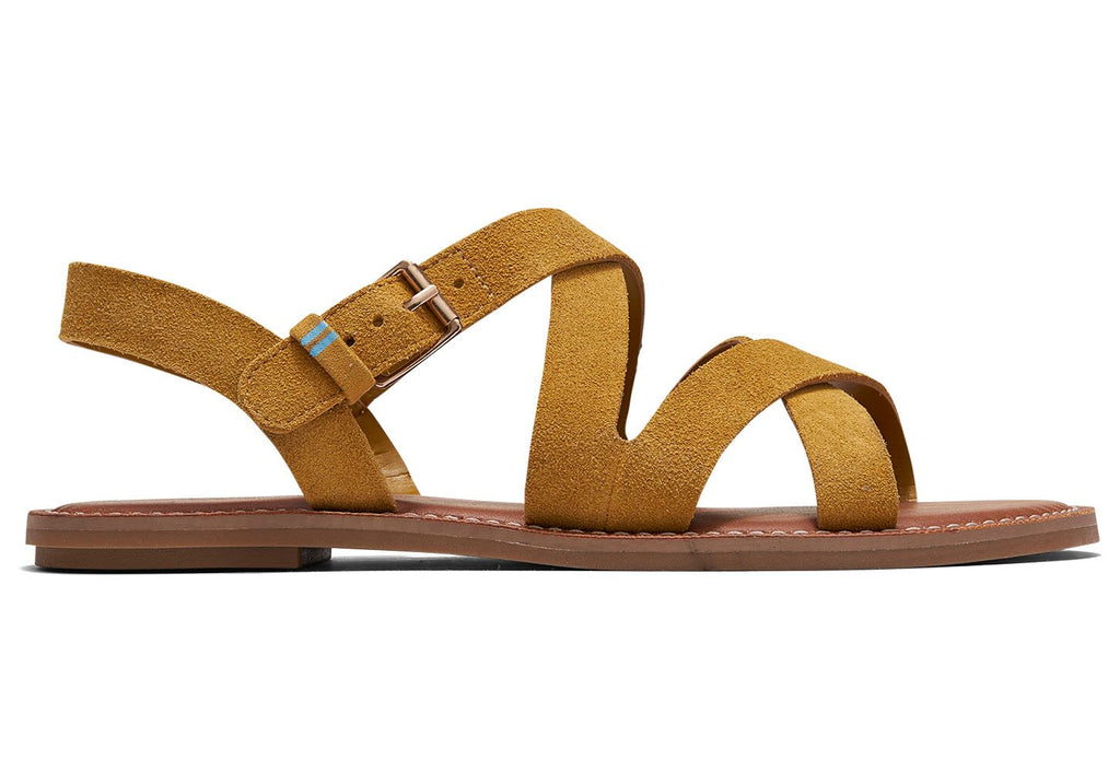 The Sicily Suede Sandal By Toms