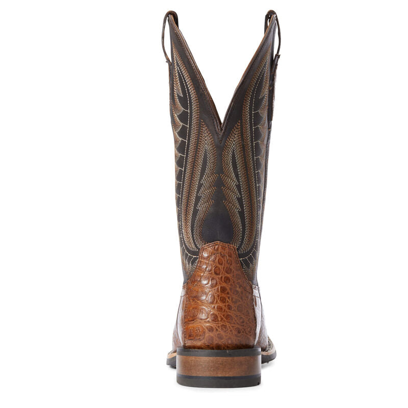 Double Down Caiman Western Boot