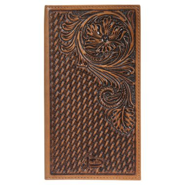 Justin Rodeo Tooled Wallet