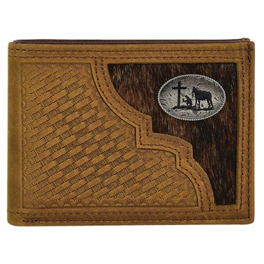 BIFOLD WALLET HAIR ON