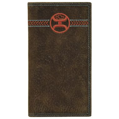 SIGNATURE RODEO WALLET WEATHERED BROWN