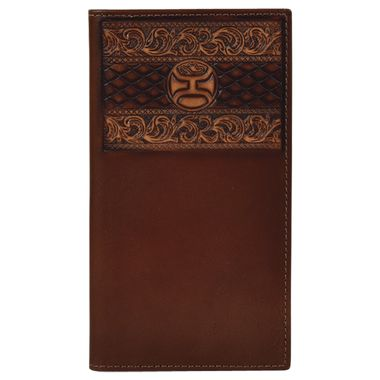 RODEO WALLET, BROWN W/TOOLING