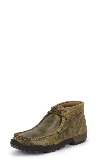 Justin Cappie Tan Work Shoe (Steel Toe)