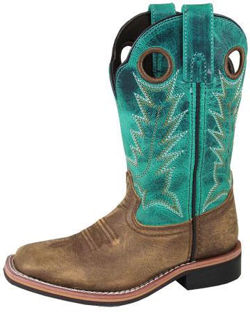 Smoky Mountain Boots Jesse Square Toe Boot (Children)