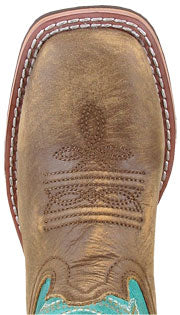 Smoky Mountain Boots Jesse Square Toe Boot (Youth)