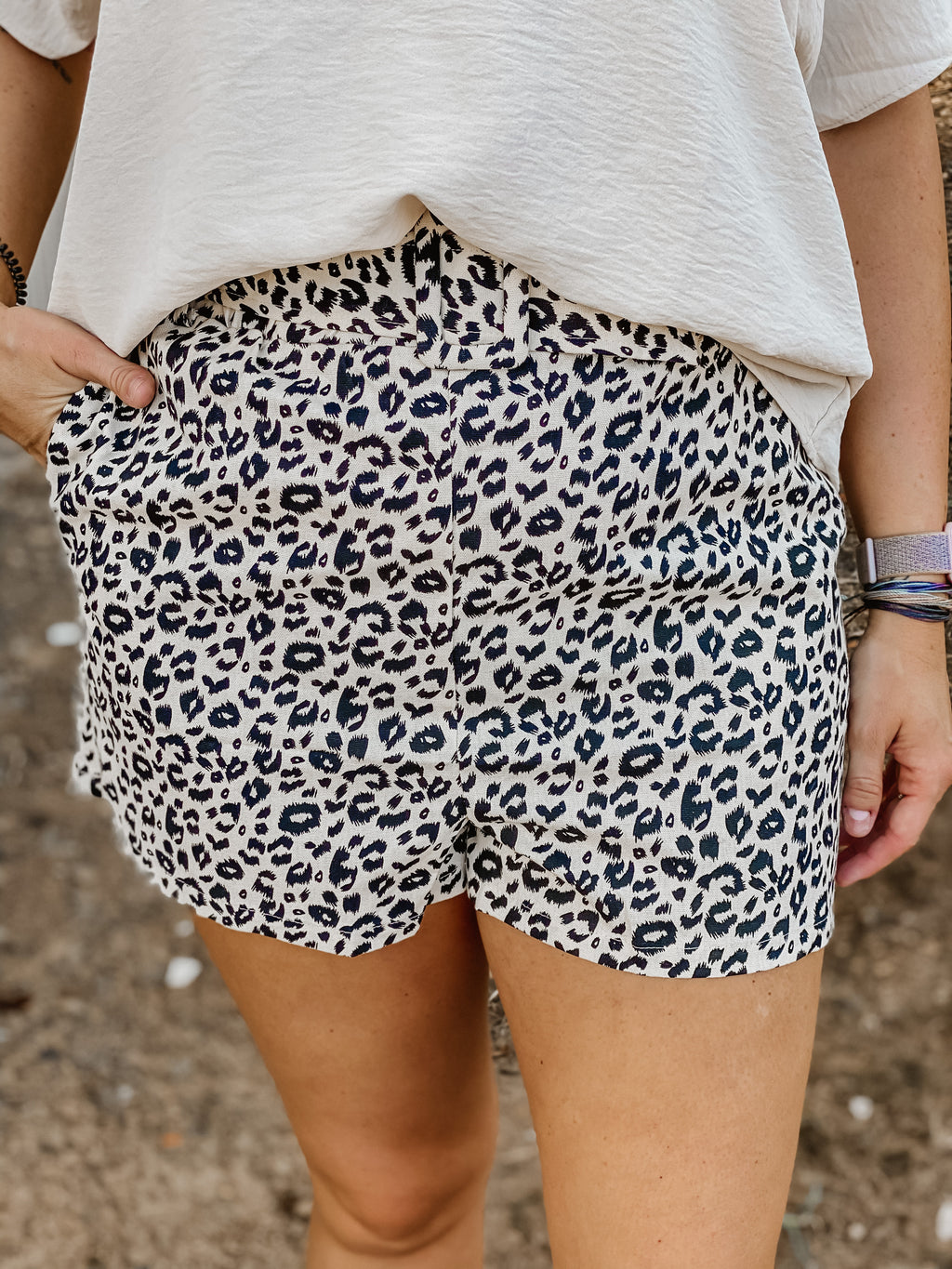 Feeling Feisty Leopard Shorts