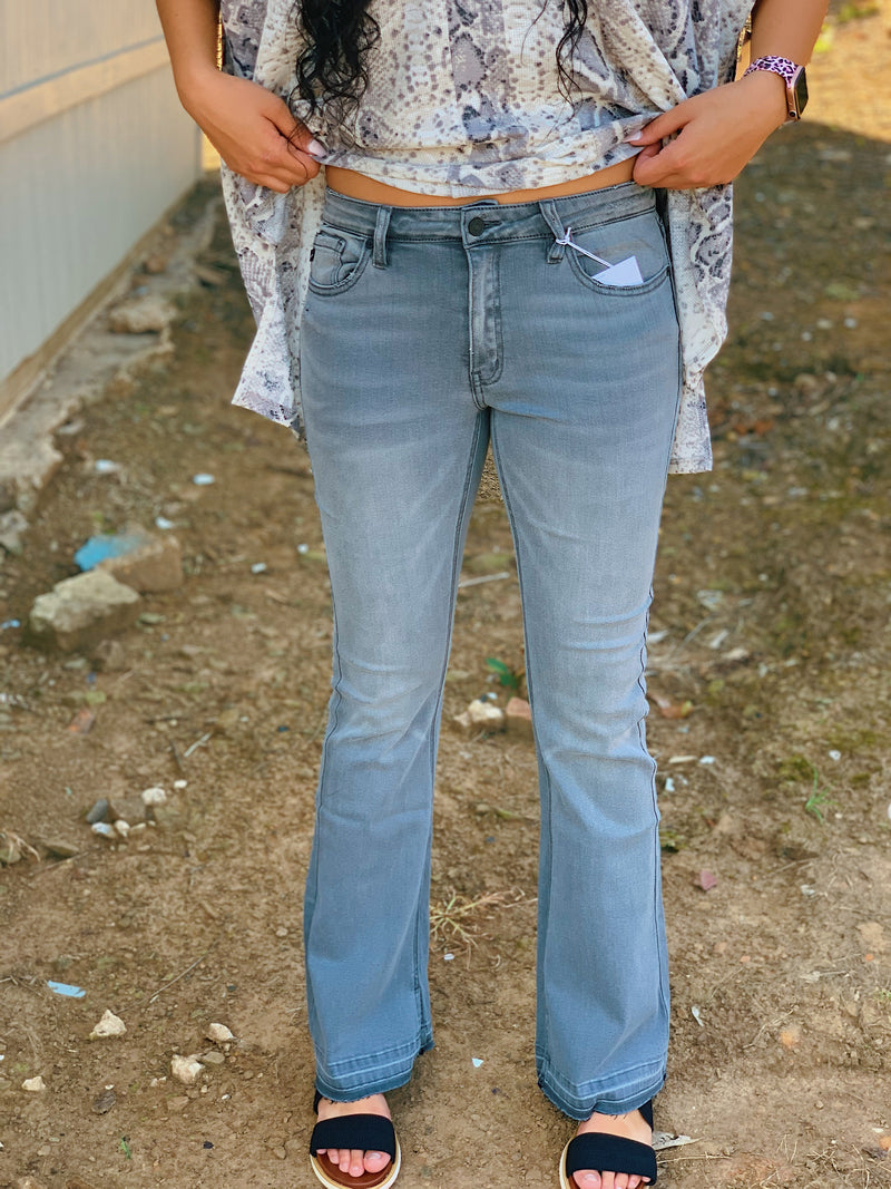 The Bonnie Flare Jean By Kancan