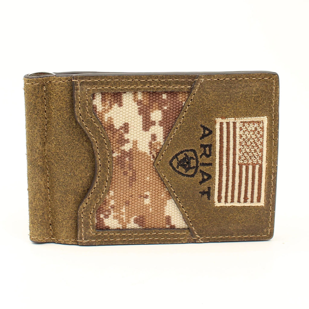 Ariat Digital Camo Bifold Money Clip