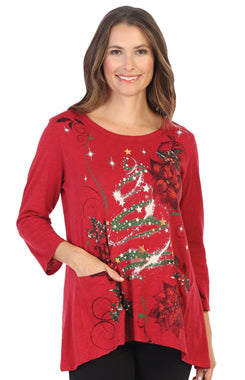 Jess & Jane Jolly Time Pocket Tunic PLUS