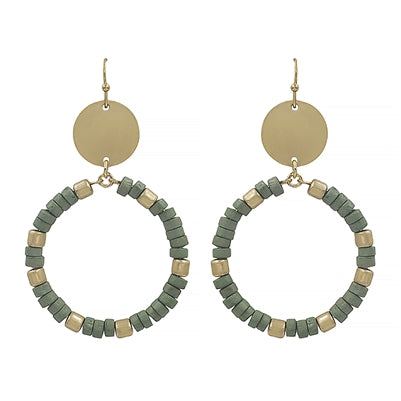 Bright Horizons Earrings MINT