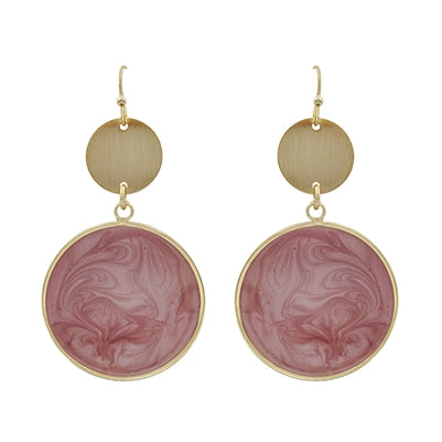 Plan For Fabulous Pink Drop Earrings