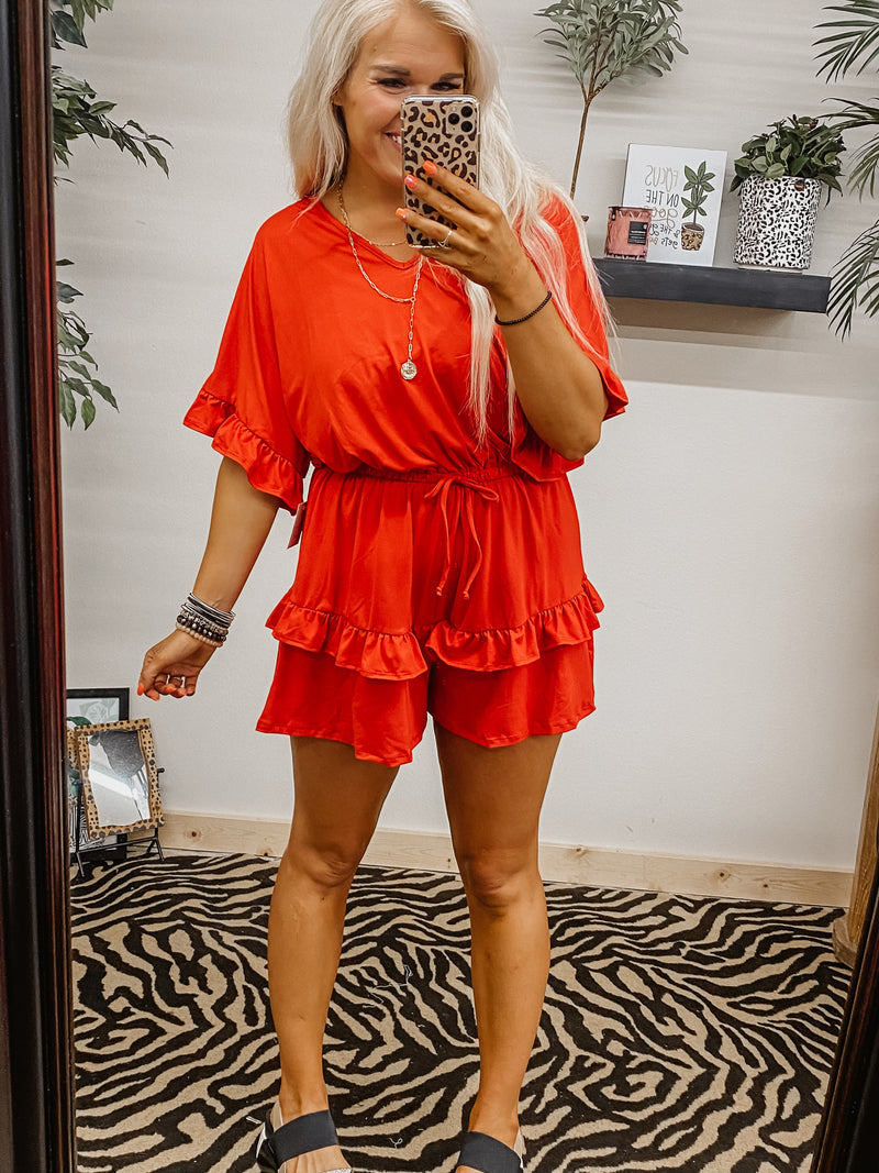 Orange You Glad Romper