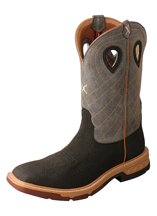 Western Work Boot with CellStretch® (Alloy Toe)