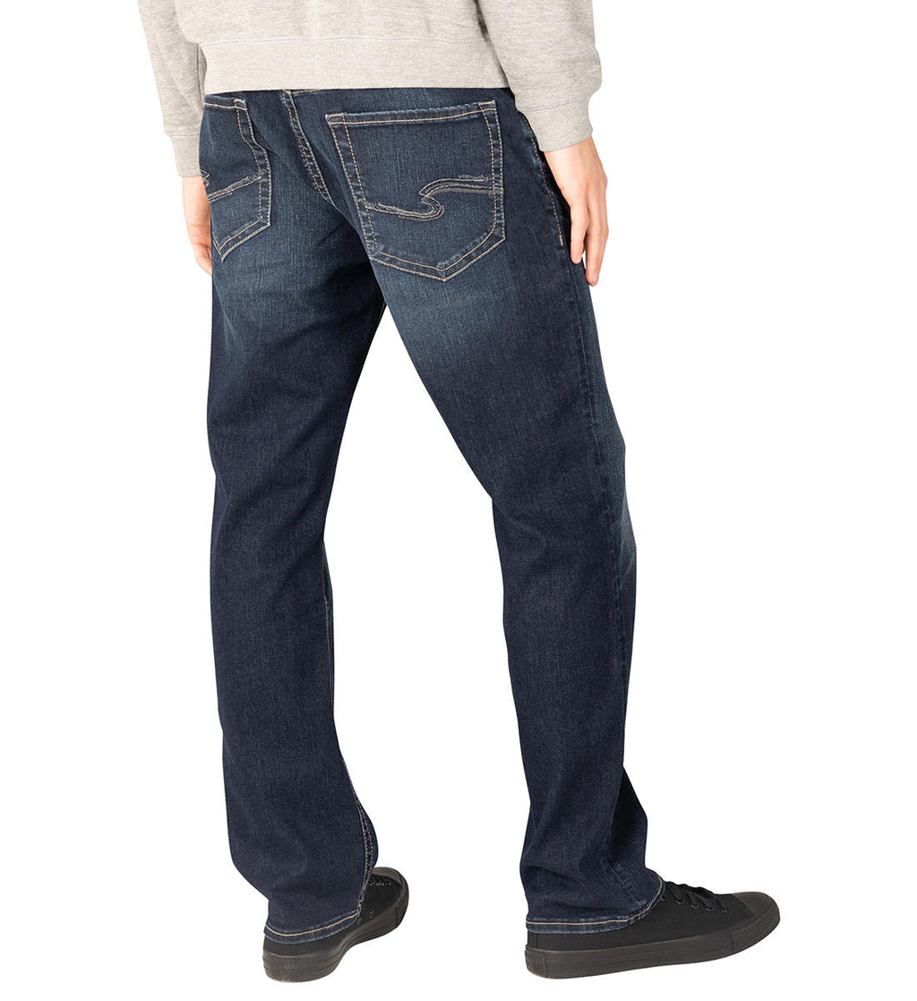 Grayson Easy Fit Straight Leg Jeans