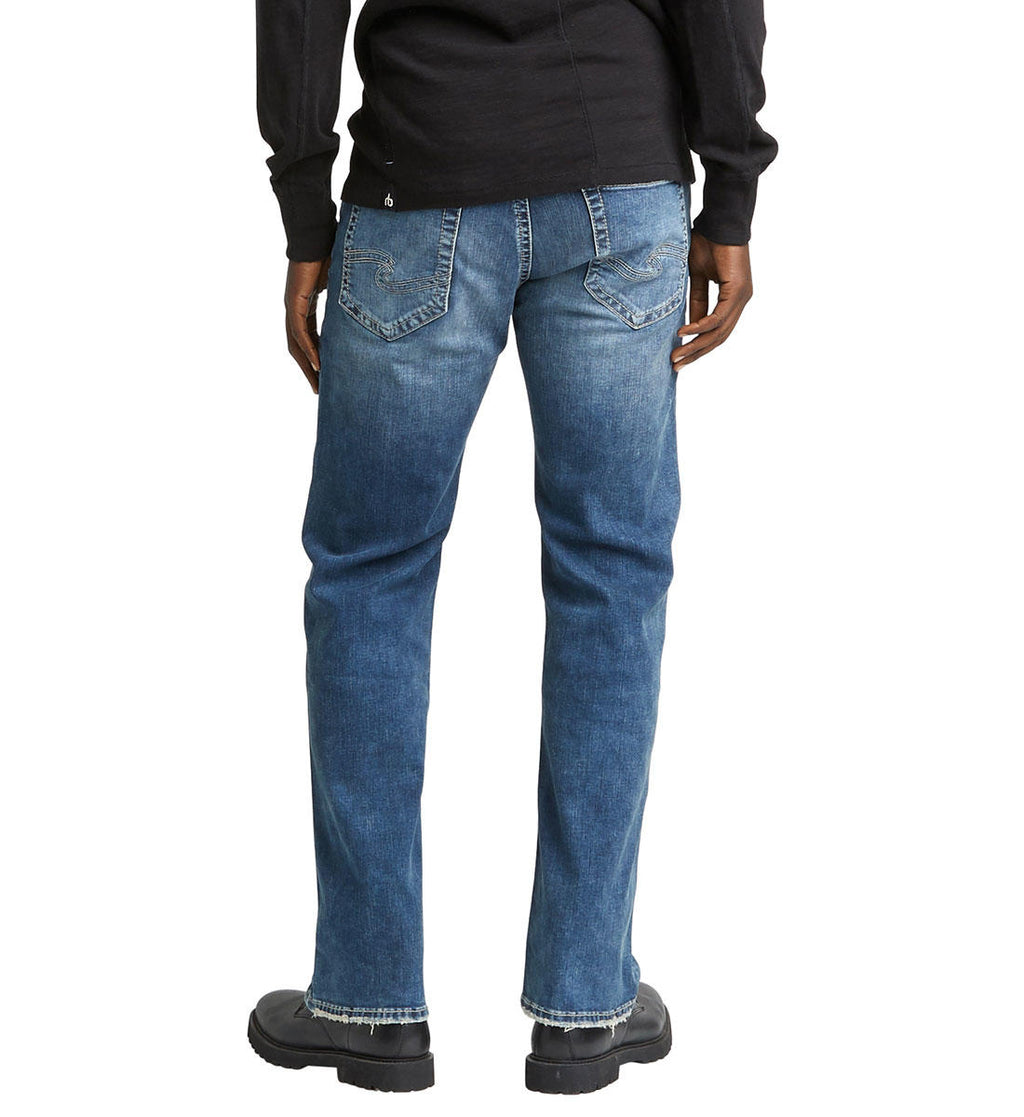 Silver Zac Relaxed Fit Straight Leg Jeans