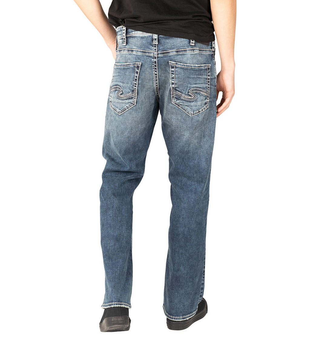 Zac Relaxed Straight Leg Jean