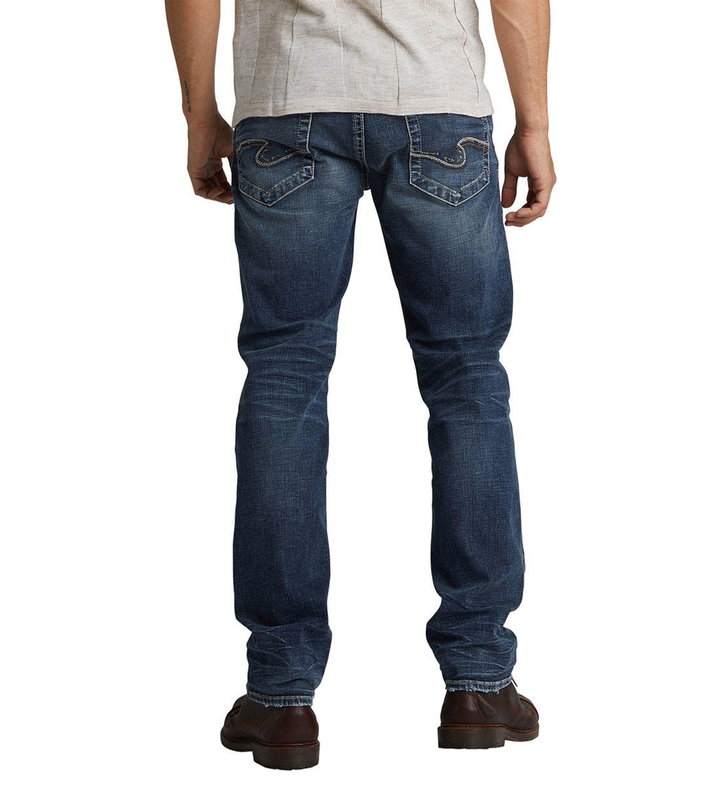 Silver Hunter Athletic Fit Tapered Leg Jean