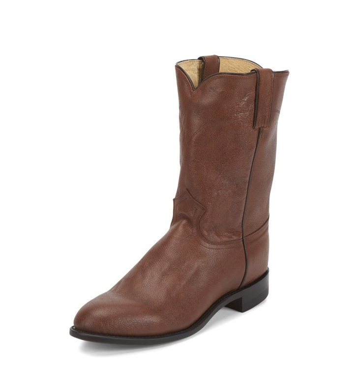 Justin Jackson Roper Brown Boots