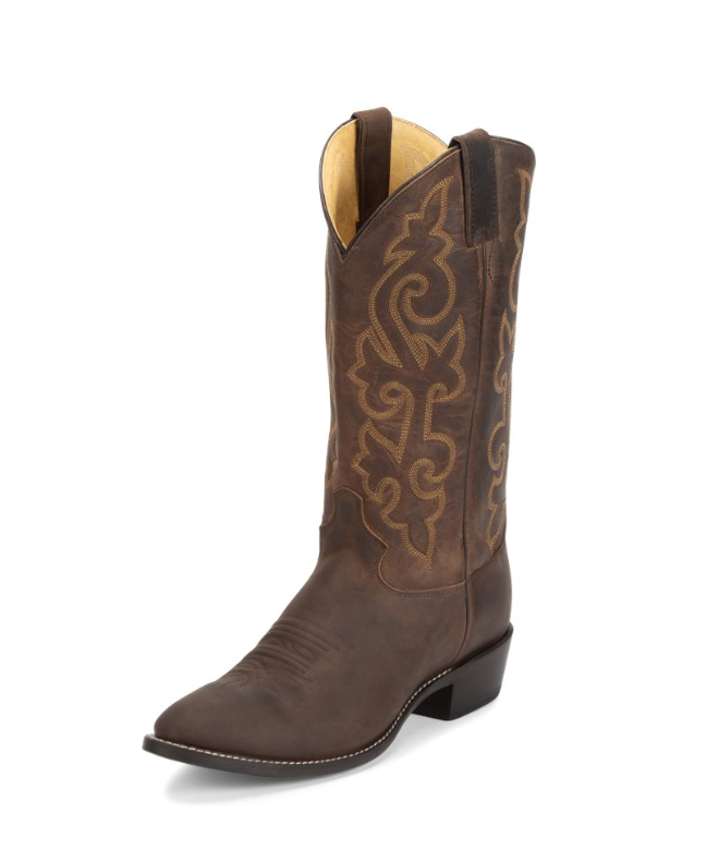 Justin Buck Bay Apache Boots