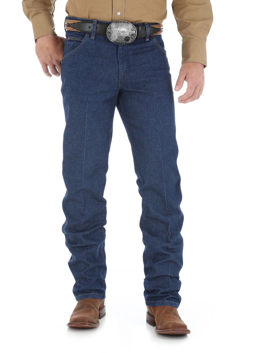 Performance Cowboy Cut Regular Fit Jean (Prewashed)