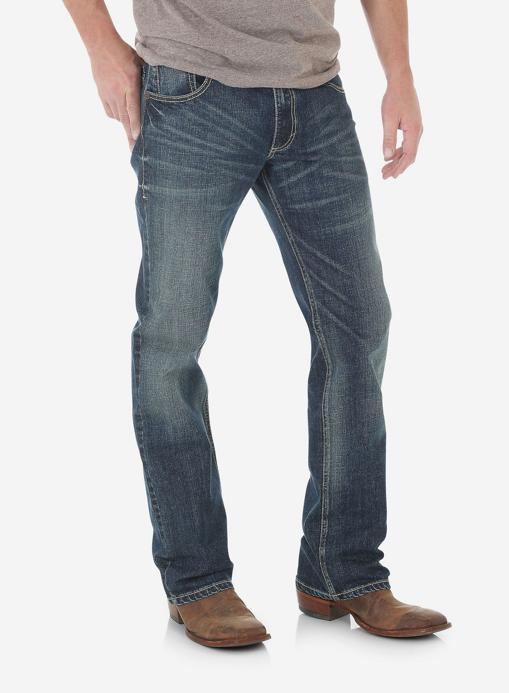 Retro Slim Fit Bootcut Jean (Layton)