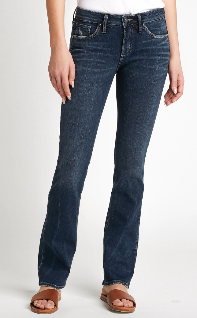Avery High Rise Slim Bootcut Jeans By Silver 31""