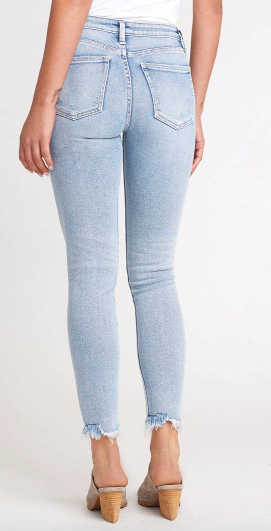"Most Wanted Mid Rise Skinny Jean by Silver 29"" PLUS"