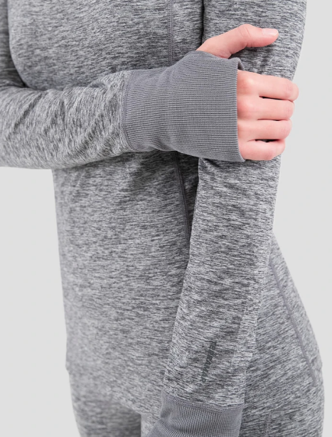 2.0 Women's Cloud Nine Performance Scoop Top Grey
