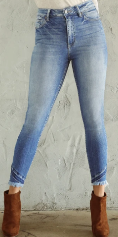 The Shiloh Ultra High Rise Skinny Jean By Kancan