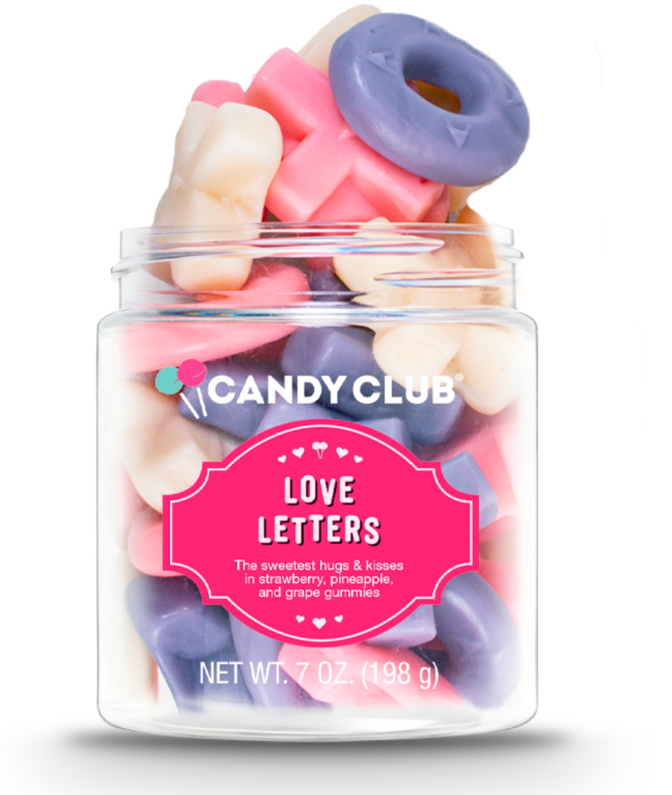 Love Letters Gummies by Candy Club