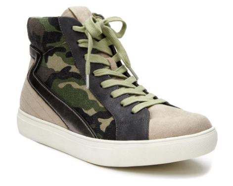 The Matchmaker Camo Sneaker By Matisse