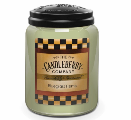 Bluegrass Hemp 26oz Candle