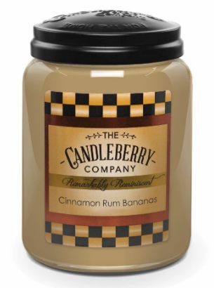 Cinnamon Rum Bananas 26oz Candle
